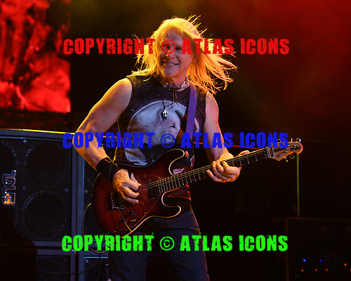WANTAGH NY- AUGUST 26: Steve Morse of Deep Purple performs at the Jones Beach Theater on August 26, 2017 in Wantagh New York. Photo by Larry Marano © 2017
