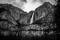 Black and White Yosemite
