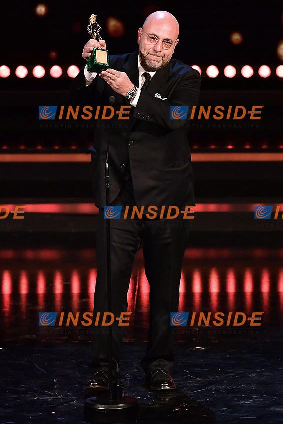 Paolo Virzi'<br /> Roma 27-03-2017. Premio David di Donatello 2017.<br /> Rome March 27th 2017. David di Donatello ceremony 2017. <br /> Foto Antonello Sammarco/Image/Insidefoto