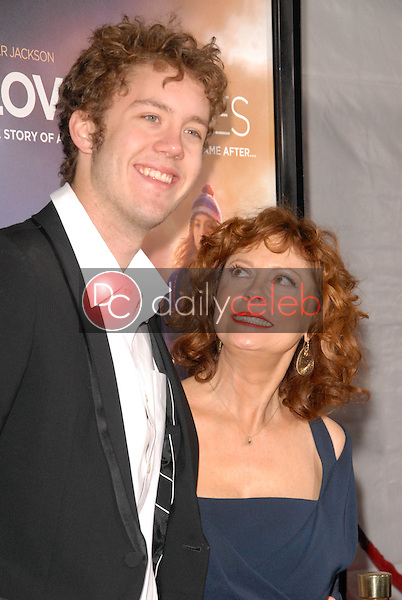 Susan Sarandon and Jack Henry Robbins<br />