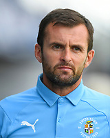 Luton Town Manager Nathan Jones during Portsmouth vs Luton Town, Sky Bet EFL League 1 Football at Fratton Park on 4th August 2018