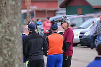 The 2014 Barnesville Park Rotary Lake 5K walk/run, Barnesville, Ohio March 29, 2014.