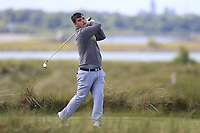 Stuart Bleakley (Shandon Park) during the 1st round of the East of Ireland championship, Co Louth Golf Club, Baltray, Co Louth, Ireland. 02/06/2017<br /> Picture: Golffile | Fran Caffrey<br /> <br /> <br /> All photo usage must carry mandatory copyright credit (&copy; Golffile | Fran Caffrey)