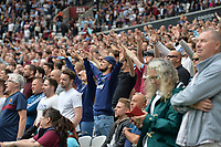 West Ham fans during West Ham United vs Manchester City, Premier League Football at The London Stadium on 10th August 2019