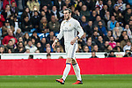 Garet Bale of Real Madrid seen red card during the match of Spanish La Liga between Real Madrid and UD Las Palmas at  Santiago Bernabeu Stadium in Madrid, Spain. March 01, 2017. (ALTERPHOTOS / Rodrigo Jimenez)