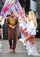 Feb 24, 2008; Fontana, CA, USA; NASCAR Sprint Cup Series driver Dale Jarrett during the Auto Club 500 at Auto Club Speedway. Mandatory Credit: Mark J. Rebilas-US PRESSWIRE