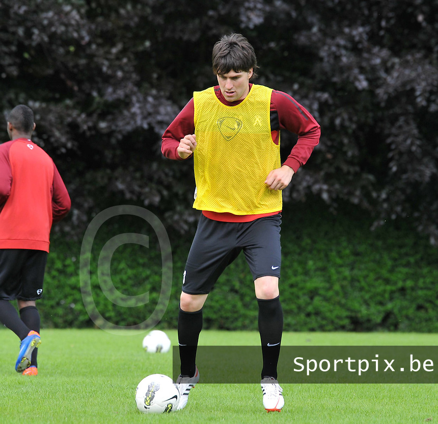 KV Kortrijk : Eerste training met Ervin Zukanovic.foto VDB / BART VANDENBROUCKE