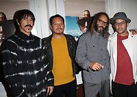 SANTA MONICA, CA - NOVEMBER 1: Anthony Kiedis, Takuji Masuda, Tony Alva, Christian Hosoi, at the Los Angeles Premiere of documentary Bunker77 at the Aero Theater in Santa Monica, California on November 1, 2017. Credit: Faye Sadou/MediaPunch /NortePhoto.com