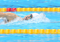 August 04, 2012..Yang  Sun competes in Men's 1500m Freestyle Final at the Aquatics Center on day eight of 2012 Olympic Games in London, United Kingdom.