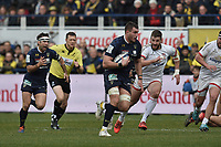 11th January 2020, Parc des Sports Marcel Michelin, Clermont-Ferrand, Auvergne-Rhône-Alpes, France; European Champions Cup Rugby Union, ASM Clermont versus Ulster;  Paul Jedrasiak (asm)  open field run