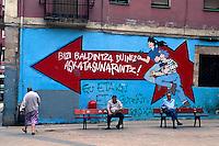 Spanien, Baskenland, Bilbao La Vieja,  Wandbilder