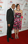 "BEVERLY HILLS, CA. - May 09: Faran Tahir and guest arrive at the 3rd Annual ""Noche de Ninos"" Gala at the Beverly Hilton Hotel on May 9, 2009 in Beverly Hills, California."