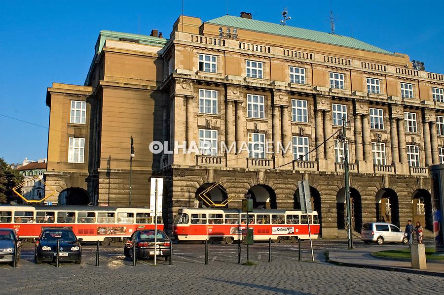 Edifício da Universidade de Praga. Republica Tcheca. 2008. Foto de Cris Berger.