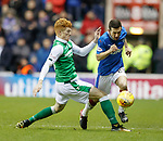 Jason Holt fouled by Simon Murray