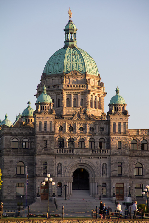 Victoria, Parliament Building, Government House, Inner Harbor, British Columbia, Vancouver Island, Canada,