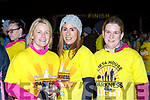 Siobhain Quinlan, Evelyn McCarthy and Cornelia Lawlor Kilcummin  at Nathans Walk Darkness into Light walk on Saturday morning