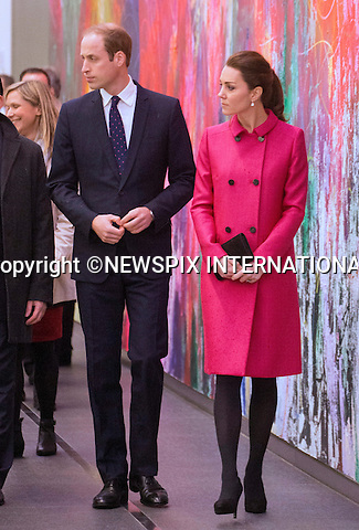 08.12.2014(No UK Usage for 28 Days); New York, USA: KATE MIDDLETON AND PRINCE WILLIAM<br /> tour the museum, view one of the Memorial Reflection Pools and pause for reflection in the Memorial Plaza during their visit to visit the National September 11 Memorial Museum.<br /> Mandatory Photo Credit: &copy;NEWSPIX INTERNATIONAL<br /> <br /> **ALL FEES PAYABLE TO: &quot;NEWSPIX INTERNATIONAL&quot;**<br /> <br /> PHOTO CREDIT MANDATORY!!: NEWSPIX INTERNATIONAL(Failure to credit will incur a surcharge of 100% of reproduction fees)<br /> <br /> IMMEDIATE CONFIRMATION OF USAGE REQUIRED:<br /> Newspix International, 31 Chinnery Hill, Bishop's Stortford, ENGLAND CM23 3PS<br /> Tel:+441279 324672  ; Fax: +441279656877<br /> Mobile:  0777568 1153<br /> e-mail: info@newspixinternational.co.uk