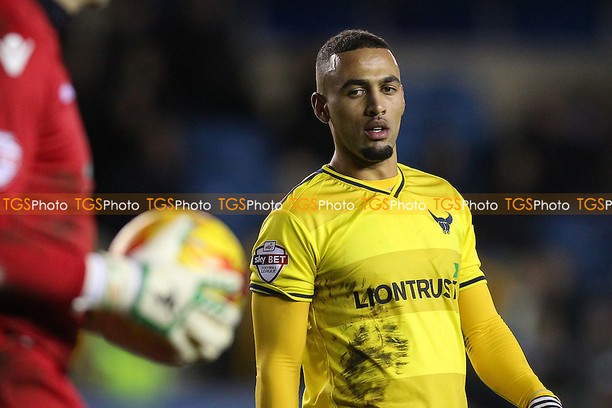 Kemar Roofe of Oxford United looks on during Millwall vs Oxford United at The Den