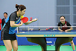 (L to R) <br /> Ai Fukuhara, <br /> Mima Ito (JPN), <br /> JULY 22, 2016 - Table Tennis : <br /> Japan national team training session <br /> for Rio Olympic Games 2016 <br /> at Ajinomoto National Training Center, Tokyo, Japan. <br /> (Photo by YUTAKA/AFLO SPORT)