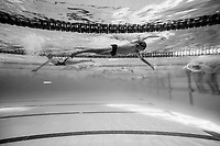 Warmups during the Swimming New Zealand Short Course Championships,Owen G Glenn National Aquatic Centre, Auckland, New Zealand, Tuesday 3 October 2017. Photo: Simon Watts/www.bwmedia.co.nz