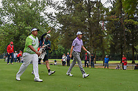 Kiradech Aphibarnrat (THA) and David Lipsky (USA) head down 18 during round 4 of the World Golf Championships, Mexico, Club De Golf Chapultepec, Mexico City, Mexico. 2/24/2019.<br /> Picture: Golffile | Ken Murray<br /> <br /> <br /> All photo usage must carry mandatory copyright credit (© Golffile | Ken Murray)