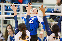 2015.01.24 UBC Women's Volleyball vs Trinity Western Spartans