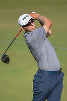 Seamus Power (IRL) watches his tee shot on 11 during round 1 of the AT&T Byron Nelson, Trinity Forest Golf Club, at Dallas, Texas, USA. 5/17/2018.<br /> Picture: Golffile | Ken Murray<br /> <br /> <br /> All photo usage must carry mandatory copyright credit (© Golffile | Ken Murray)