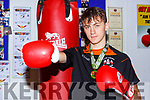 Sliabh Luachra boxer Barry O'Connor Killorglin who became Senior Cadet Champion at 57kg in the National Stadium last weekend