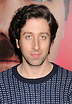 LOS ANGELES, CA- DECEMBER 12: Actor Simon Helberg arrives at the 'Her' Los Angeles Premiere - Arrivals at Directors Guild Of America on December 12, 2013 in Los Angeles, California.