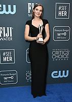 12 January 2020 - Santa Monica, California - Hildur Gudnadottir. 25th Annual Critici's Choice Awards - Press Room held at Barker Hangar. Photo Credit: Birdie Thompson/AdMedia