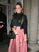 Amber Le Bon at the Gigi Hadid x Maybelline Jetsettter Cosmetics Kit VIP launch party, Hotel Gigi, 93 Mortimer Street, London, England, UK, on Tuesday 07 November 2017.<br /> CAP/CAN<br /> &copy;CAN/Capital Pictures /MediaPunch ***NORTH AND SOUTH AMERICAS ONLY***