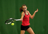 Almere, Netherlands, December 6, 2015, Winter Youth Circuit, Laurèl Polman (NED)<br /> Photo: Tennisimages/Henk Koster