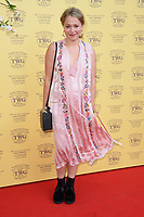 Poppy Jaimie<br /> arriving for the TWG Tea Gala Event at Leicester Square, London<br /> <br /> ©Ash Knotek  D3413  02/07/2018