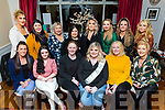 Richeal Gorham from Pembroke Square celebrating her Baby Shower in Denny Lane on Saturday night.<br /> Seated l-r, Helena Barrett, Amy Kennelly, Aoife, Richeal and Peggy Gorham and Maresa Locke. <br /> Back l-r, Klara MaGee, Desiree Waters, Fiona Raymond, Emer O&rsquo;Sullivan, Yvonne Flavin, Mandy Colbert, Jade Burke and Stacey Donovan.