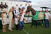 WELLINGTON, FL - APRIL 25:  Best Playing Pony is B09 by Adolfo Cambiaso, in the US Open Polo Championship Final, at the International Polo Club Palm Beach, on April 25, 2017 in Wellington, Florida. (Photo by Liz Lamont/Eclipse Sportswire/Getty Images)