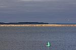 BOUY IN CORONATION BAY, ARCTIC OCEAN, KUGLUKTUK, NUNAVUT, CANADA