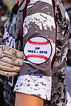 WOLCOTT, CT. 19 July 2019-071919 - All players participating in the tournament wore a patch in honor of Dave Pelletier, during the first annual Dave Pelletier Memorial Baseball Tournament for U8 at the Baseball Association of Wolcott fields in Wolcott on Friday. Dave Pelletier, a popular baseball coach who founded the unified sports program in Wolcott, died in November 2018 at the young age of 55  Bill Shettle Republican-American