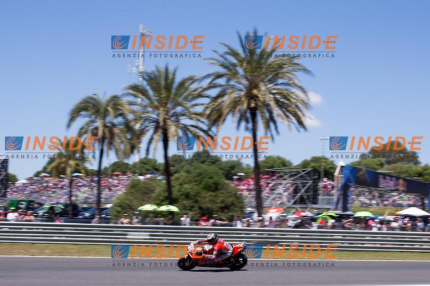 JORGE LORENZO - SPANISH - DUCATI TEAM - DUCATI<br /> Jerez 05-05-2018 Moto Gp Spagna / Spain<br /> Foto Vincent Guignet / Panoramic / Insidefoto