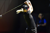 Anna Nordqvist (SWE) plays her shot from the first tee during the Final Round at the Kia Classic,Park Hyatt Aviara Resort, Golf Club &amp; Spa, Carlsbad, California, USA. 3/25/18.<br /> Picture: Golffile | Bruce Sherwood<br /> <br /> <br /> All photo usage must carry mandatory copyright credit (&copy; Golffile | Bruce Sherwood)