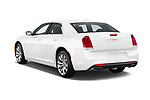 Car pictures of rear three quarter view of a 2018 Chrysler 300 Limited 4 Door Sedan angular rear