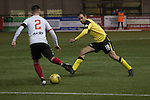 Clyde versus Edinburgh City, SPFL League 2 game at Broadwood Stadium, Cumbernauld. The match ended 0-0, watched by a crowd of 461. Photo shows City substitute Dougie Gair.
