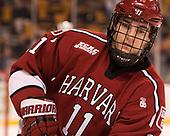 Ty Pelton-Byce (Harvard - 11) - The Harvard University Crimson defeated the Boston University Terriers 6-3 (EN) to win the 2017 Beanpot on Monday, February 13, 2017, at TD Garden in Boston, Massachusetts.