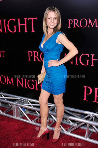 "Jessalyn Gilsig at the world premiere of ""Prom Night"" at the Cinerama Dome, Hollywood..April 9, 2008  Los Angeles, CA.Picture: Paul Smith / Featureflash"