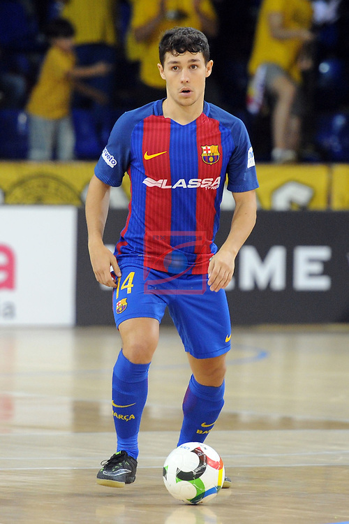 League LNFS 2016/2017 - Game 4.<br /> FC Barcelona Lassa vs Gran Canaria FS: 4-2.<br /> Roger.