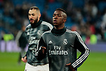 Real Madrid's Vinicius Jr. during La Liga match between Real Madrid and Real Sociedad at Santiago Bernabeu Stadium in Madrid, Spain. January 06, 2019. (ALTERPHOTOS/A. Perez Meca)<br />  (ALTERPHOTOS/A. Perez Meca)