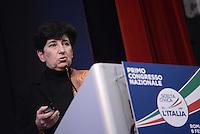 Roma, 8 Gennaio 2015<br /> Luciana Cazzaniga.<br /> Primo congresso nazionale di Scelta Civica per l'Italia.