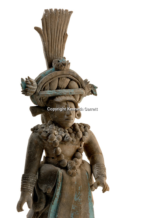 Maya Rise and Fall; Mexico City; National Museum of Anthropology and History; INAH; Jaina Figurine; Mayan; Maya; Ancient Cultures
