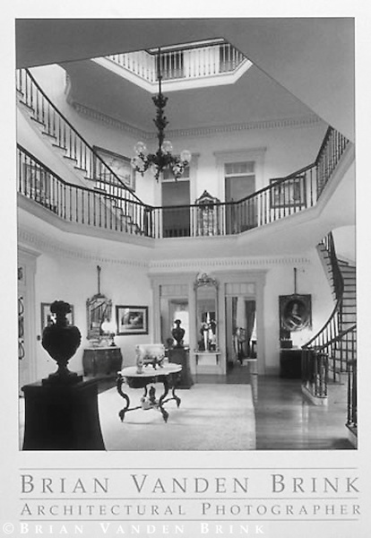 OCTAGONAL ROTUNDA<br /> WAVERLY PLANTATION ca. 1850<br /> Columbus, Mississippi<br /> For National Geographic Books © Brian Vanden Brink, 1999