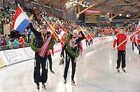 SCHAATSEN: Sven Kramer (NED), Hamar WK 2009, ©foto Martin de Jong