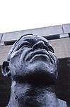 ATBK60 Nelson Mandela bust statue Southbank London
